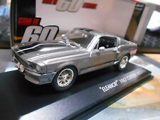 Ford Shelby Mustang GT 500 e 1967 v8 Eleanor TV Cine Movie 60 segundos gre 1:43