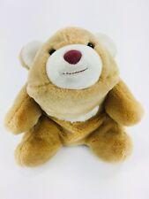 "Vintage Gund Snuffles BUTTERSCOTCH Polar Bear 9"" 1980 Plush Stuffed Animal"