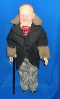 Vintage W.C. Fields Effanbee Doll with Cane