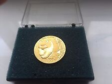 Rare 2002 1/4 China Gold Panda Coin100 Yuan 999 AU !!