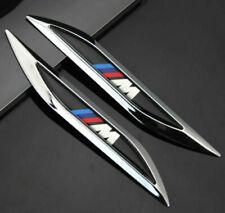 2x  M POWER Auto Aufkleber Emblem Fenders Schriftzug für  Racing M Performance