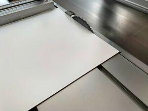 HDF 3mm Hartfaserplatte weiß Schrankrückwand Platte Möbelbau Holz auf Wunschmaß