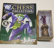 Dc Superhero Chess Collection Magazine #2 Joker Black King by Eaglemoss