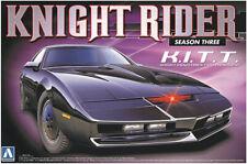 Pontiac Transam Knight Rider Season 3 K.I.T.T. KITT 1:24 Model Kit Aoshima 07037