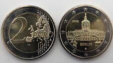 German 2 EURO COIN - BERLIN 2018 - BU MINT UNC - A Berlin mint mark  - NEW