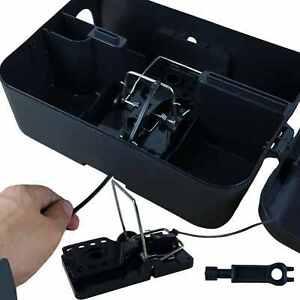 Roshield Easy Set Rat Snap Trap & External Garden Box - Green Pet Safe Control