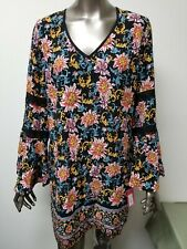 New Xhilaration Womens Long Sleeve Floral Top