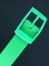 SWATCH 12 mm GREEN strap whit watch correa band bracelet compatible cinturino