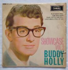 "Buddy Holly - Showcase Vol 2 EP - Coral FEP 2069 RARE UK 7"" Vinyl 1ST PRESSING"
