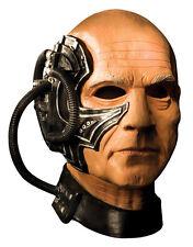 Star Trek next generation Accessoires Costume, Homme Picard locotus Full Mask
