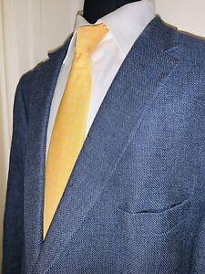 Joseph Abboud Linen Cotton Sport Coat Sz 50L Tailored Fit Italian Cloth