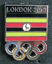 2012 LONDON Olympic UGANDA NOC Internal team - delegation new Dated pin