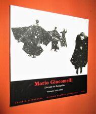 PHOTOGRAPHIE.- Mario Giacomelli : L'ermite de Senigallia, Vintages 1953-1968