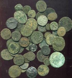 lot de 50 monnaies romaine a identifier