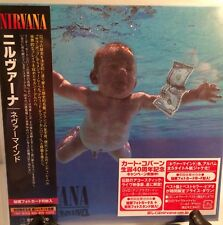 NIRVANA NEVER MIND JAPAN MINI LP CD NEW