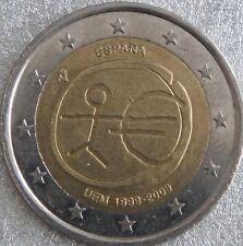 manueduc 2  Euros  ESPAÑA  2009  Conmemorativos 10 ANIVERSARIO UME    NUEVOS