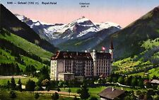 Gstaad, Royal-Hotel per 1910/20
