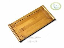 "Chinese Bamboo Gongfu Tea Small Table Serving Tray 10.6"" * 5.12"""