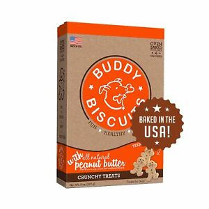 Buddy Biscuits Oven Baked Teeny Dog Treats - Whole Grain Treats for Small or ...