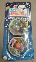 Space Adventure Mini Pocket Playset - S.E.M. Galaxy Vintage Toy Set - Nrfb Mosc
