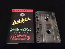 DOKKEN DREAM WARRIORS FROM A NIGHTMARE ON ELM STREET PART 3 SOUNDTRACK USA TAPE