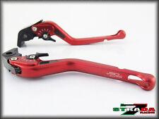 Strada 7 CNC Long Carbon Fiber Levers KTM 1190 Adventure / R 2013 - 2014 Red