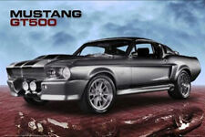 FORD SHELBY MUSTANG GT500 POSTER (61x91cm) MUSCLE CAR PICTURE PRINT NEW ART
