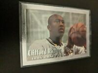 1994-95 Topps Embossed Silver Idol Clifford Rozier ROOKIE RC