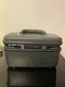 Vintage 1987 Samsonite Silhouette 4 Mauve Train Makeup Case