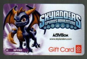 TARGET ( Australia ) SkyLanders Spyro's Adventure 2012 Gift Card ( $0 )
