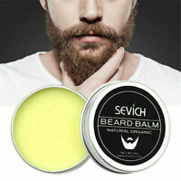 Natural Beard Balm Oil Care Beard Fast Growth Organic Moisturizing Conditioner Q