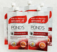 5 x POND s AGE MIRACLE WRINKLE CORRECTOR DAY CREAM RETINOL-C SPF18 PA++ 7G
