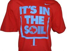 New NIKE TEXAS ITS IN THE SOIL FIELD GOAL POST Mens 2X-Large RED XXL Football