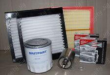 Air Oil Pollen Filter Spark Plug Service Kit Fit Range Rover P38 V8 99-02