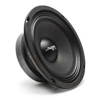 NEW SKAR AUDIO FSX65-4 300-WATT SINGLE 6.5-INCH 4 OHM MID-RANGE LOUDSPEAKER