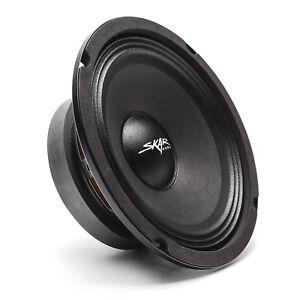 NEW SKAR AUDIO FSX65-4 300-WATT SINGLE 6.5-INCH 4 OHM MID-RANGE LOUDSPEAKER