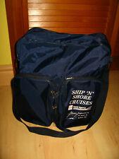 Ship N Shore Cruises Travel Agency Travel Bag - Vintage American Express Nylon