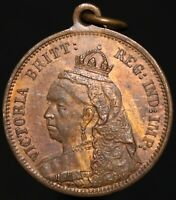 Victoria 'Born 1819, Crowned 1838, Married 1840, Died 1901' Medal | KM Coins