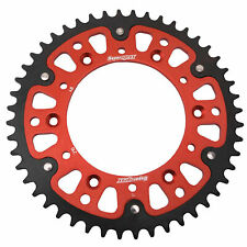 Supersprox Stealth Rear Sprocket 50 Tooth Red