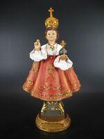 De Prague L/'Enfant Jésus Petit 30 cm Poly Figurine Église Karmelitenkloster