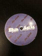 "The Eliminators- Pootah/Untitled 12"" Da Lick Vinyl Jungle Drum and bass 1998"