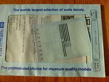 1Microscale Decal N  #60-113 Missouri Pacific Diesels (1974-1983) Diesel - Hoods