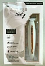 Finishing Touch Flawless Body Rechargeable Ladies Shaver - White/Rose Gold
