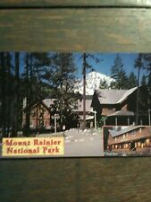 LOT OF 2 BEAUTIFUL POST CARDS  MOUNT RAINIER NATIONAL PARK WASHINGTON.