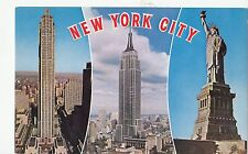 BF17827 multi views   statue of liberty new york city  USA front/back image