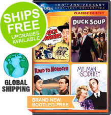 Buck Privates / Duck Soup / Road to Morocco / My Man Godfrey (DVD, 2012) NEW