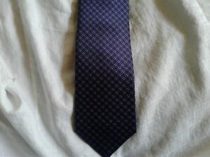New BRIONI  made in Italy   Woven Silk Neck Tie MSRP $230!