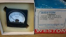 WESTON 201 AMPERES METER SQUARE DC AMM 2601103 NEW $49