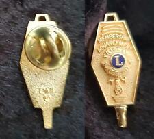 2 INTERNATIONAL LIONS PINS including MEMBERSHIP ADVANCEMENT KEY #5