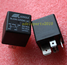 5pcs ORIGINAL & Brand New SLDH-12VDC-1C NO:80A NC:60A 14VDC SONGLE Relay